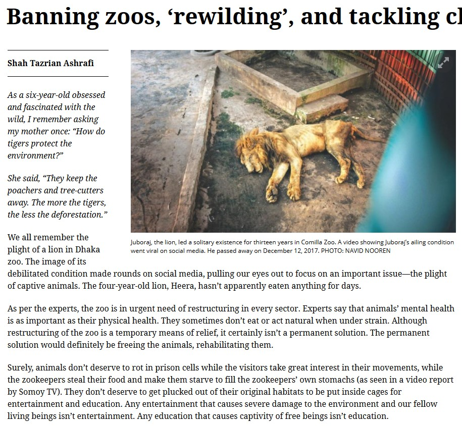 https://www.thedailystar.net/opinion/environment/news/banning-zoos-rewilding-and-tackling-climate-change-1766674
